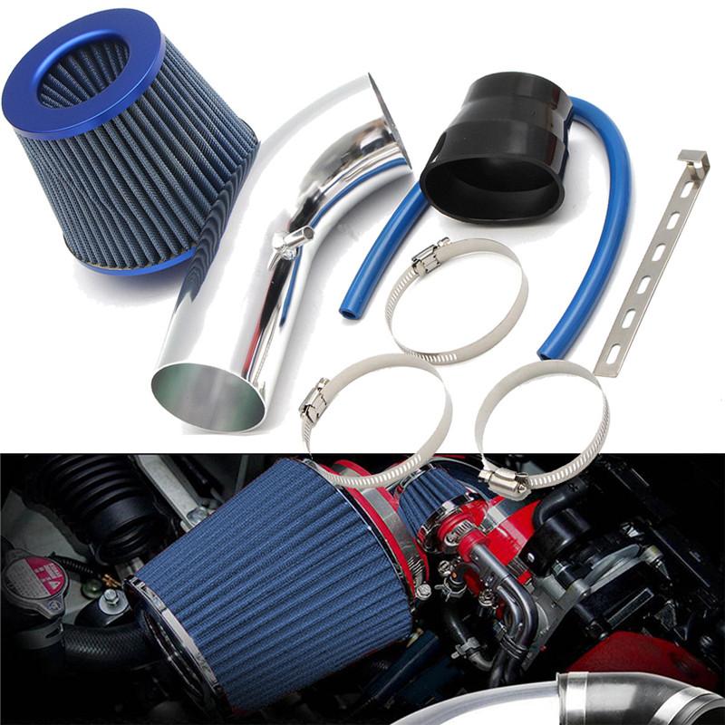 3inch voiture universelle filtre /à air dadmission dair froid syst/ème de tube de tuyau en aluminium Kit KIMISS 76mm