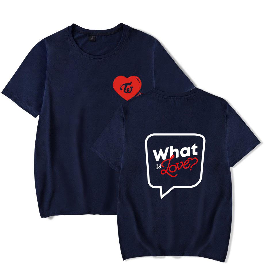 Luckyfridayf Twice Korean Kpop 2018 Summer Hip Hop Cool T-shirts Men/women High Quality Cotton Short Sleeve Casual Tops Plussize C19040302