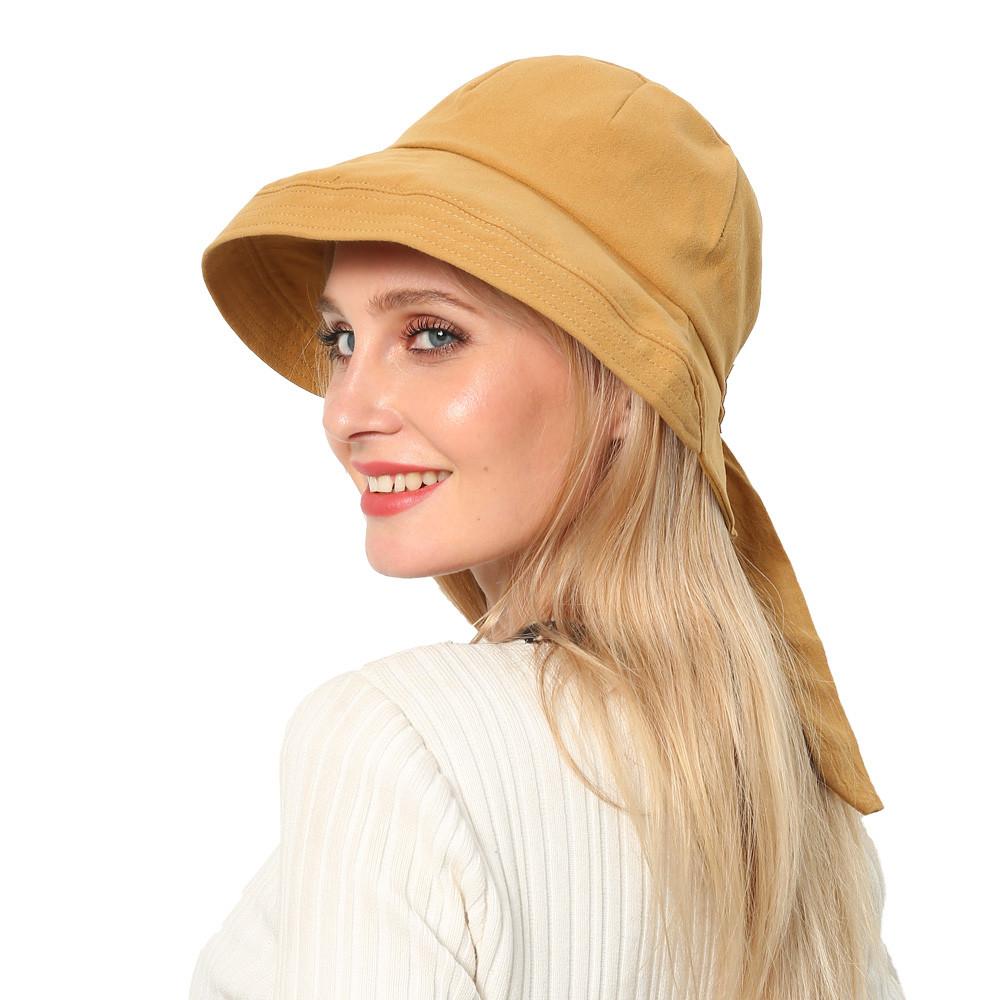 UV Protect Sun Hat Foldable Large Brim Visor Cap Beach Sun Hat Outdoor TFSU