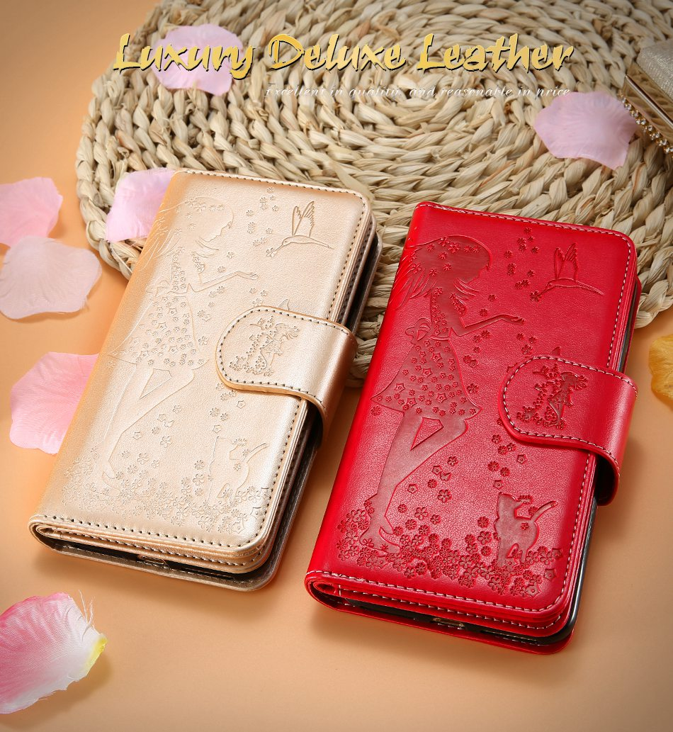 Leather Wallet Case For iPhone 7 6 6S Plus 5 5S SE Phone Cases (1)