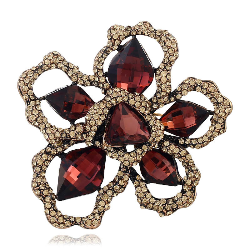 fashion love designer wedding bridal pin charms Clothes Ornaments High Quality High Pin Flower Brooch Jewelry sets for women men