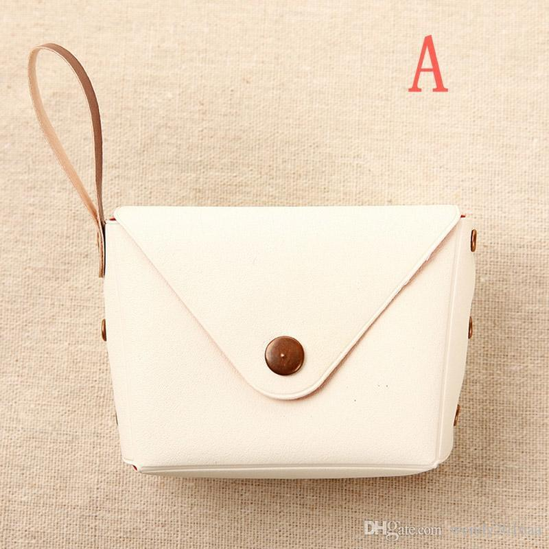 Coins Purse small Change Wallet Coin Purses Bags Pouch Women Ladies Girls wallets keychain charm Gifts