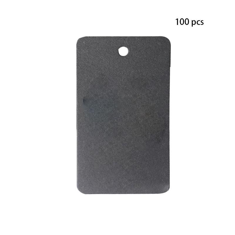 Noir 50/pcs Ours T/ête papier kraft festonn/é Porte Carte /étiquette Hang Tag /étiquettes de cadeau de mariage