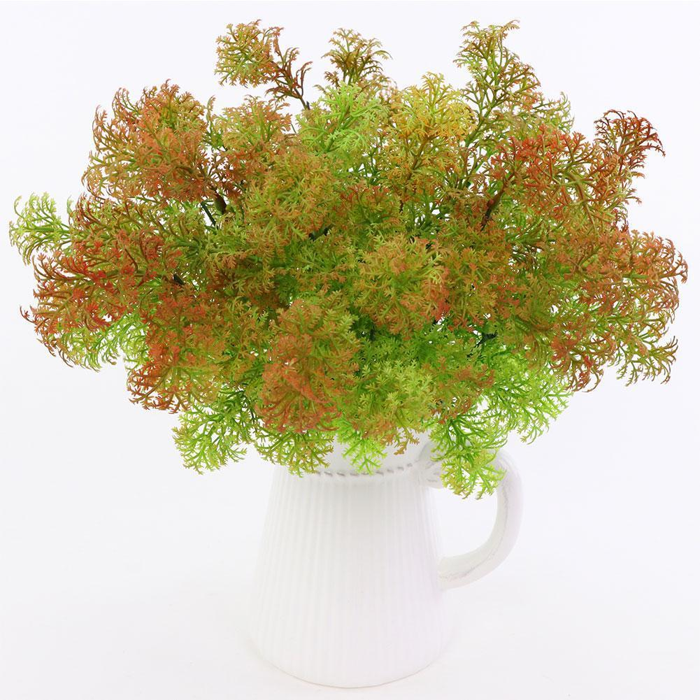 Artificial Plastic Moss Grass Plant Tree Home Office Party Furniture Decoration C19041302