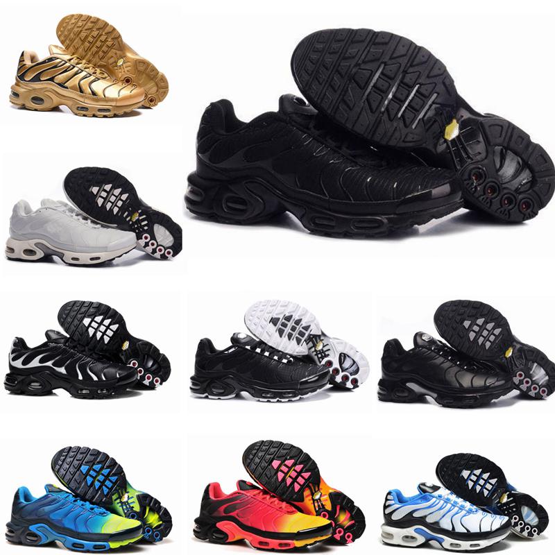 New Nike air max Tn Chaussures Hommes Nouveau Noir Blanc Rouge Tns TN plus Chaussures Ultra Sports Cheap TN Requin Fashion Sneakers Casual