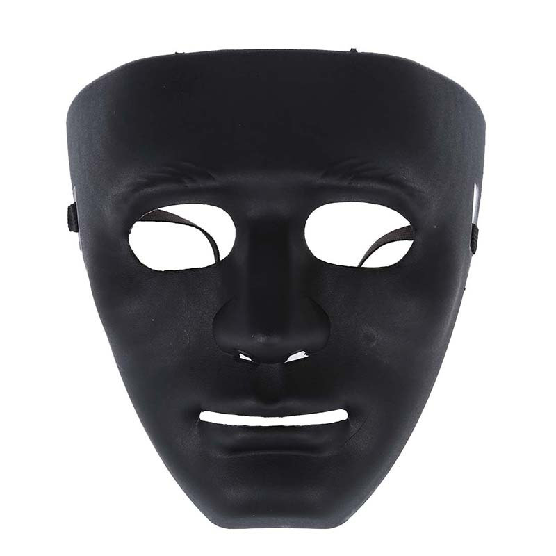 Halloween Mask White Full Face JabbaWockeeZ Dance Crew alloy Costumep Fast New