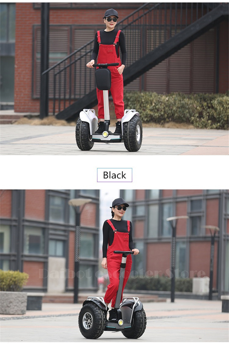 Daibot 2019 New Powerful Electric scooter Two Wheels Double Driver 60V 2400W Off Road Big Tire Adults Hoverboard Scooter (8)