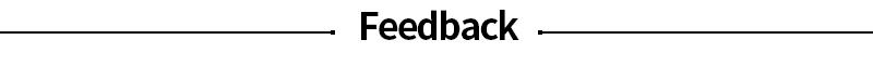 FEEDBCAK