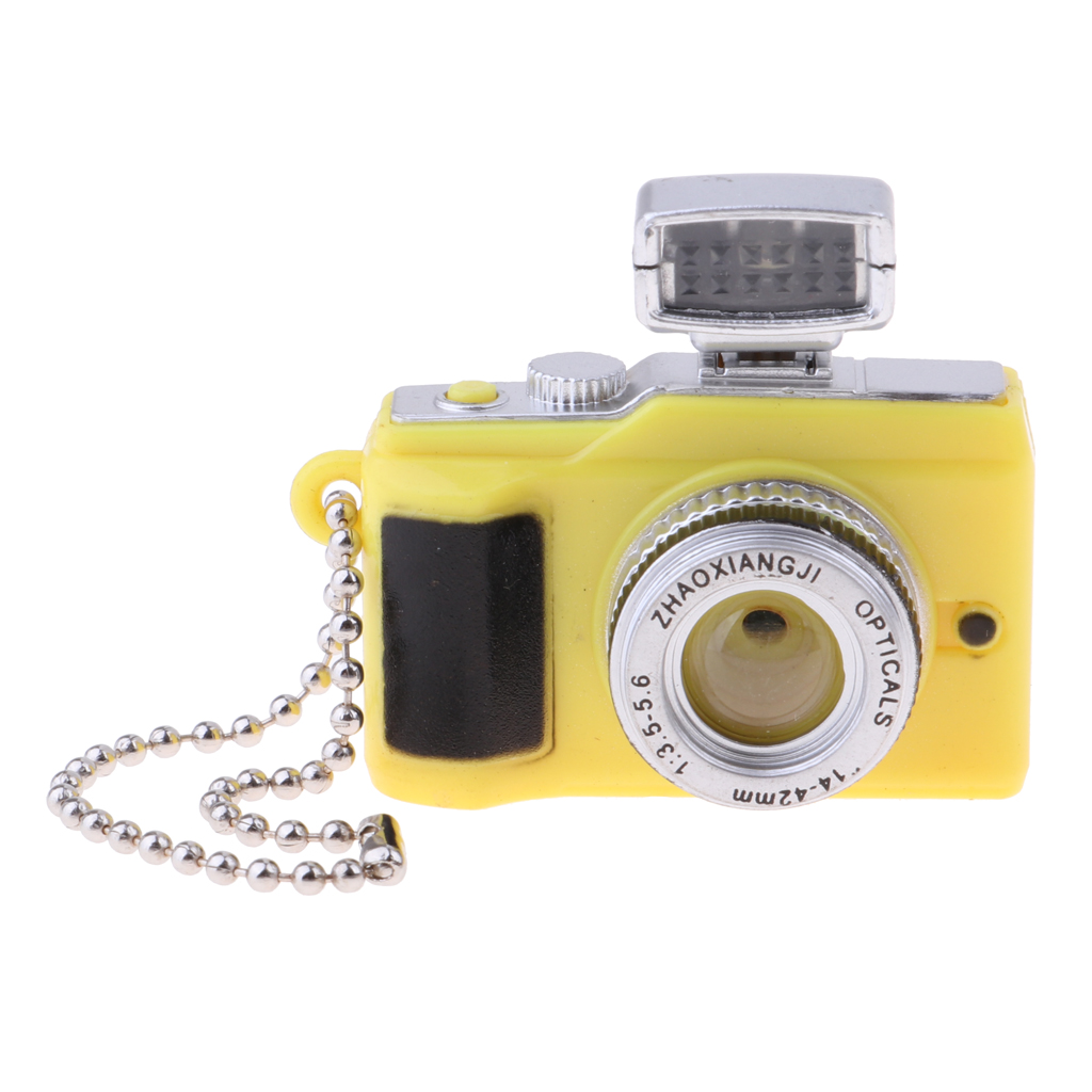 Dollhouse Miniature Camera Model for Blythe for Hot Toys for 1/3 1/4 1/6 BJD Dolls Accessories Kids Pretend Play Toy