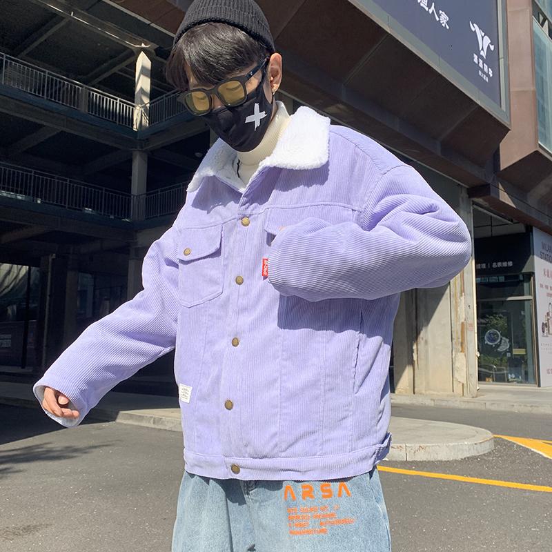 Homme élégant Denim Baseball Preppy étudiant Jeans Manteau Veste Outwear Parka 2018