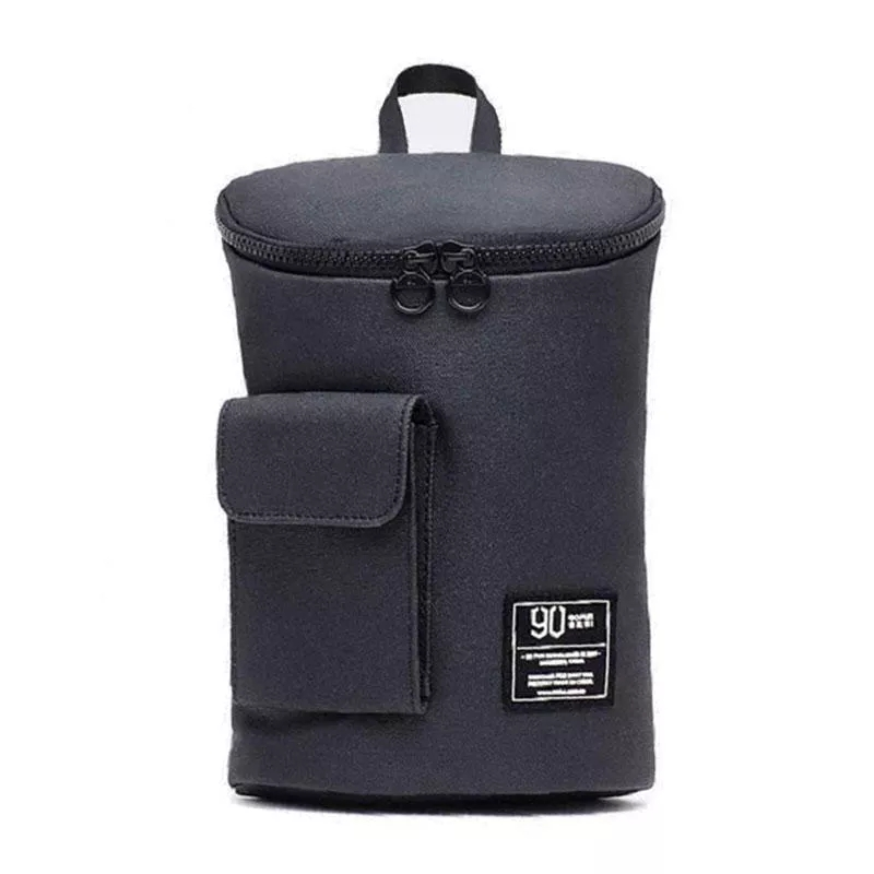 Color : Dark Gray Xiao Jian Travel Leisure Small Backpack Smart with USB Charging Waterproof Men Backpack