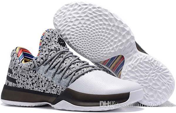 Harden New Hot Vol. 1 Bhm Noir Mois de l'histoire Hommes Chaussures de basketball Mode James Harden Chaussures Rouge Baskets d'entraînement de plein air