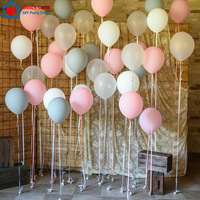 50 pcs Latex Helium Round balloons Christmas balloon 122.8g Thick Pearl green red wedding balloons party Christmas decoration