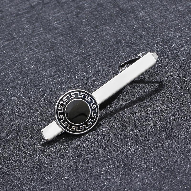 Drop Oil Tie Clip da uomo Business High-end Camicia da uomo Wedding Hair Dresser Cosmetolo Iron Man Figura Tie Clip Accessori FAI DA TE Decorazioni