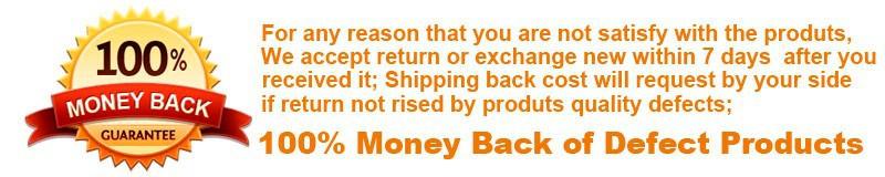 guarantee of money back