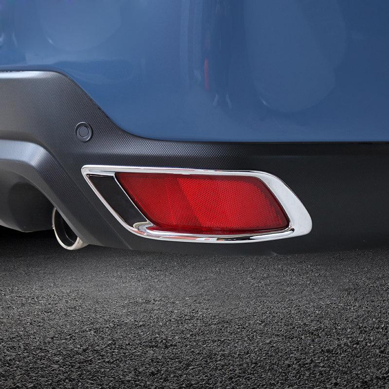 cubierta de l/ámpara de niebla para Kia Sportage KX5 QL 2015-2018. 1 par de bastidor de luz antiniebla delantera Cubierta de luz antiniebla
