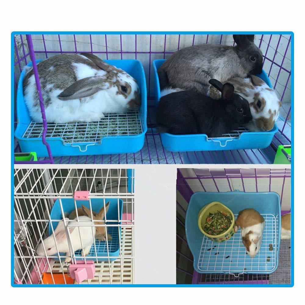 Rat Toilet Square Potty Trainer Corner Litter Bedding Box Pet Pan For Small Animal/rabbit/guinea Pig Galesaur Ferret Q190525