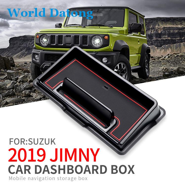 Vpcar Jimny Housse de Feux antibrouillard Avant en Fibre de Carbone pour Jimny 2019-2020 JB74 JB64