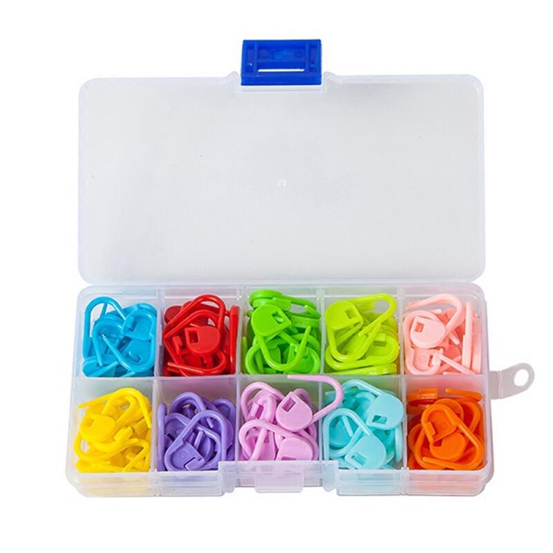 Aiguille Artisanat Crochet Tricoter Row Counter Stitch Tally Pendentif Plastique Mini