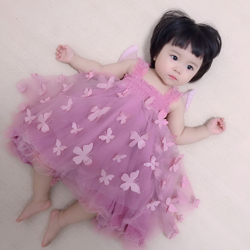 1-6-Butterfly Girl Dress
