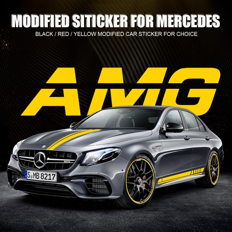 Csfssd Modificado coches pegados a los coches de coche personalizado est/ándar traseros pegados a los coches est/ándar cr/áneo etiquetas engomadas del coche Color : Black