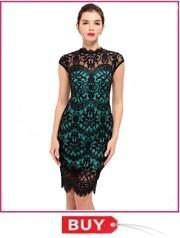 lace office work dress