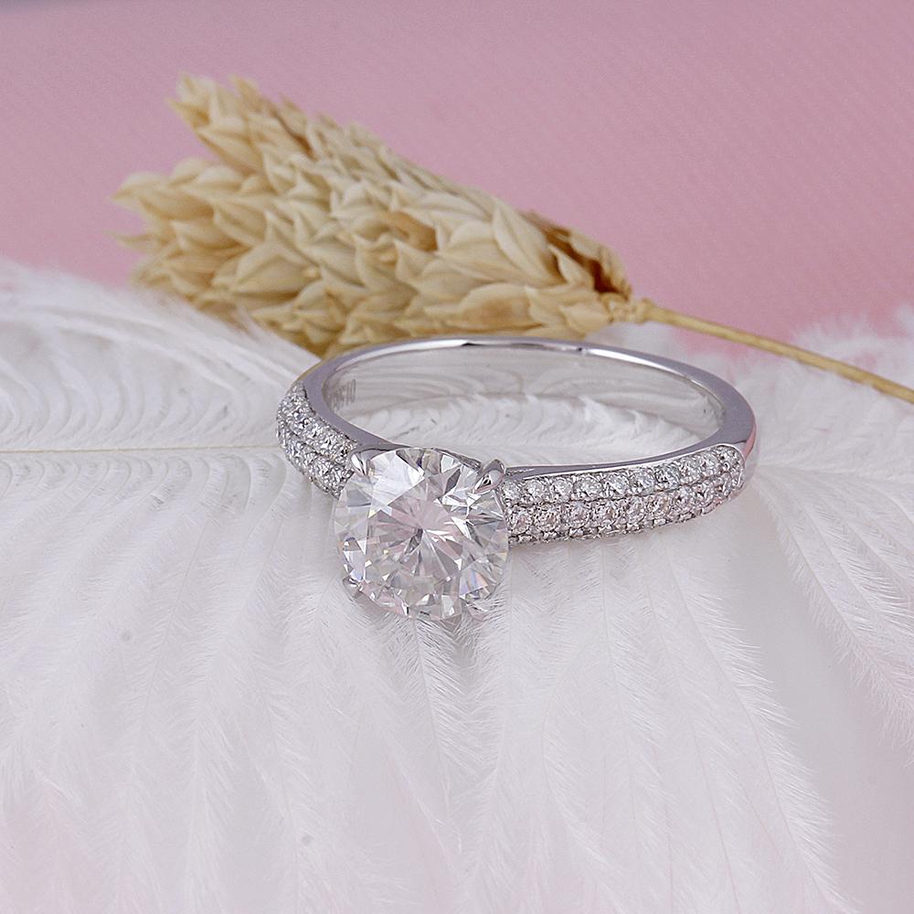 1.5CT moissanite engagement ring (5)