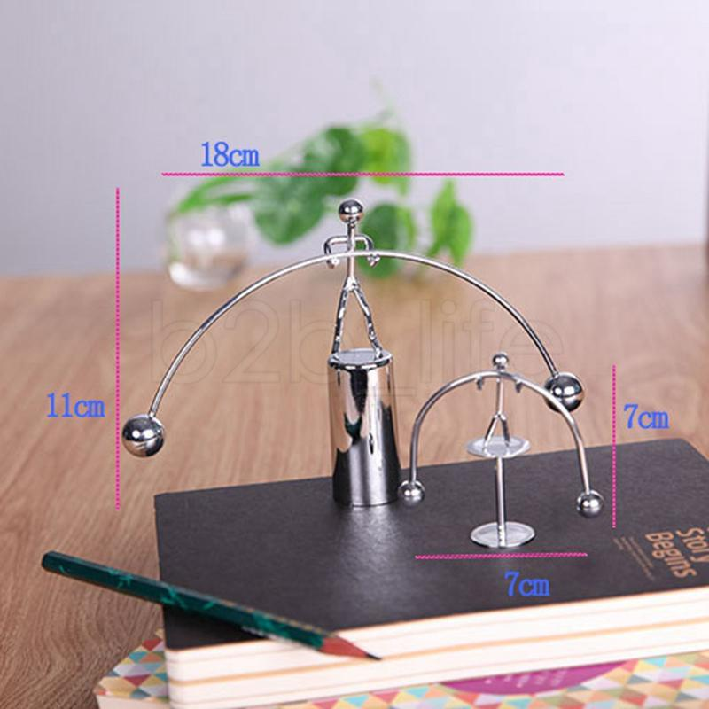 Weightlifter Gadget Perpetual Motion Desk Art Toy Home Office Decoration Toy