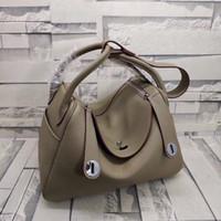 26CM 30cm Super Soft Tote cowskin Genuine leather Fashion De...