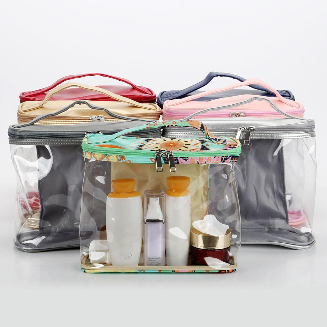 Nouveau Mode Portable Multifonction Cosmétique Maquillage Sac Voyage Sac De Stockage Étanche Nouveau Mode Mode Sac De Maquillage Imperméable