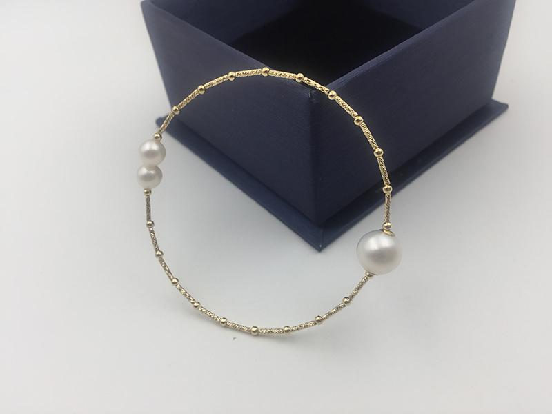 18k gold bangles bracelet SL18K1004 (15)