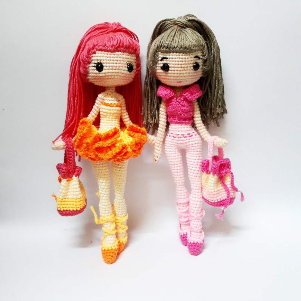 Doll body crochet pattern | 1000x1000