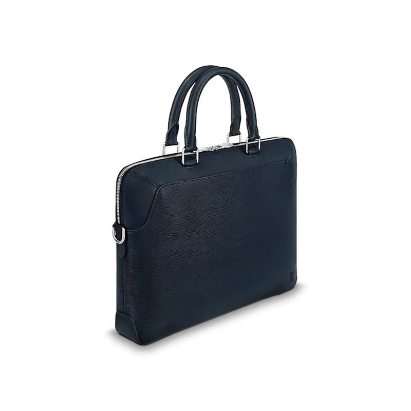 / Men's Bag Oliver Leather Tie Official Document Handbag M51690