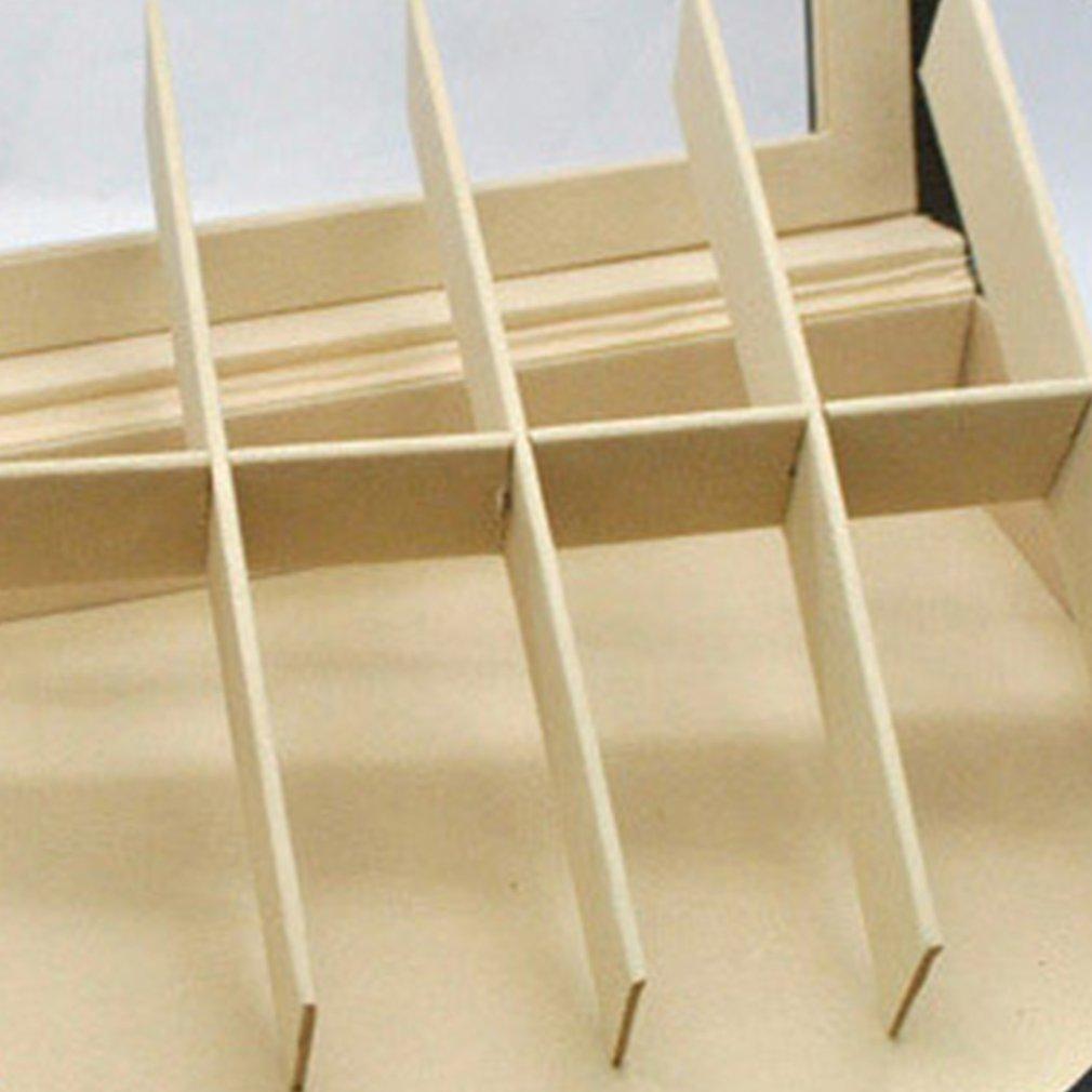 Home Desktop Watch PU Storage Box Jewelry Collection Storage Organizer Men's Business 10-Seat Watch Box Holder Packaging