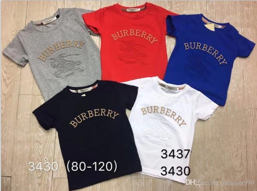 Designer new boy high-grade letter pattern cotton short-sleeved T-shirt sweat-absorbent breathable anti-wrinkle explosion models male 3437#