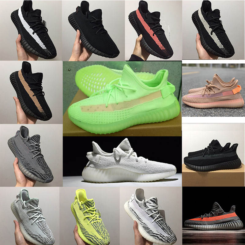 basket adidas yeezy boost 350 v2 cp9652 noir chaussures de running homme femme