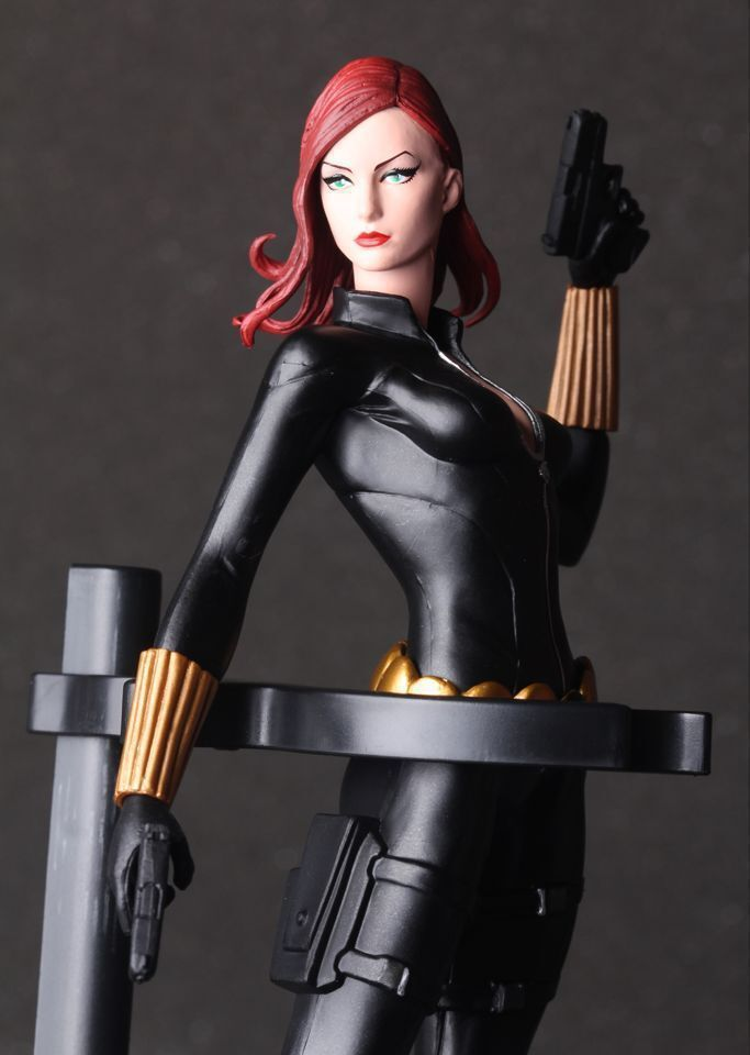 Avengers Black Widow Cartoon Figure Anime Movie Model Lovely Action Figures Collectible Model Kids Toys (5)