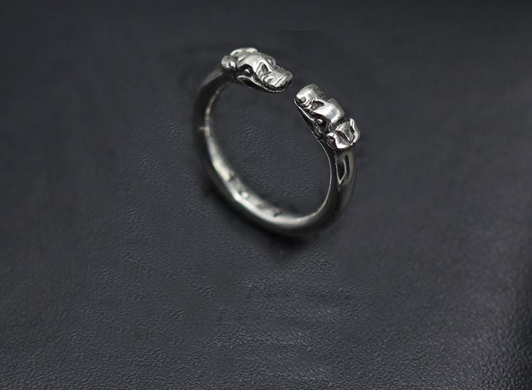Anillo de mujer ancha 925 Sterling plata rhodiniert plata dedo anular anillo