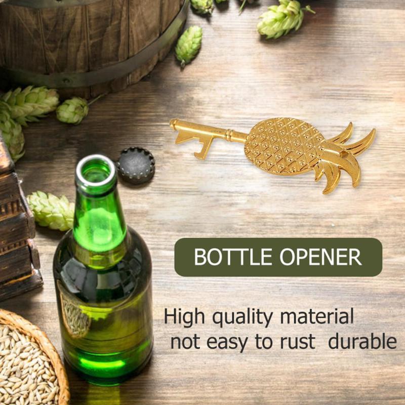 Pineapple Key Shaped Bottle Opener Portable Red Wine Beer Openers Bar Tools Bottler Opener Beer 21#