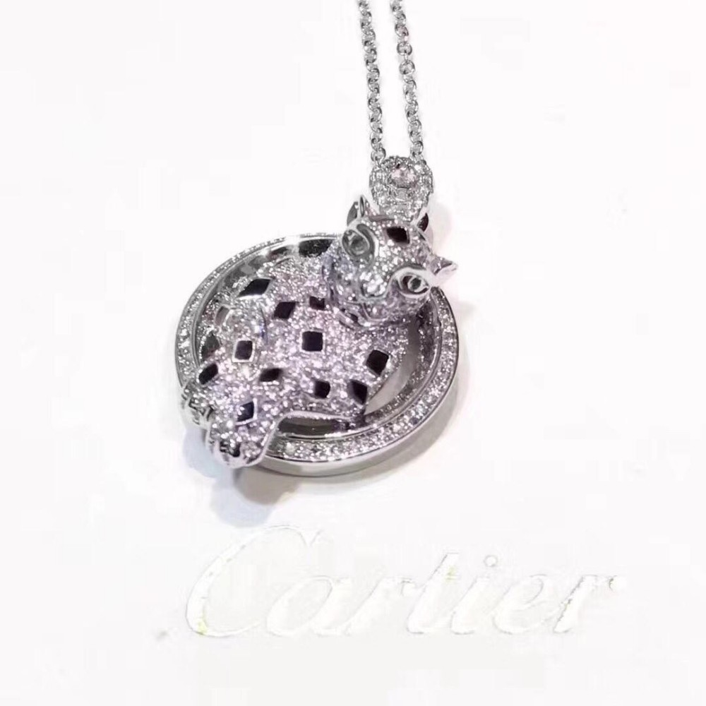 Designer Fashion chic Silver Cross Rosary Virgin Pendant Women Necklace stainless steel jewelry