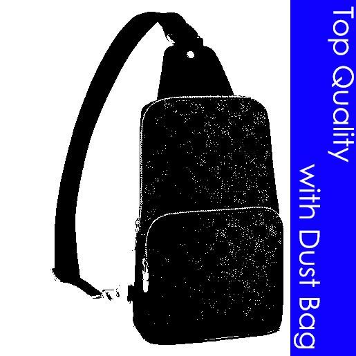 TOP Quality N41719 N41720 AVENUE SLING BAG Designer Fashion Men's CROSS BODY Sling Canvas Leather Sporty Casual Messenger Small Shoulder BAG