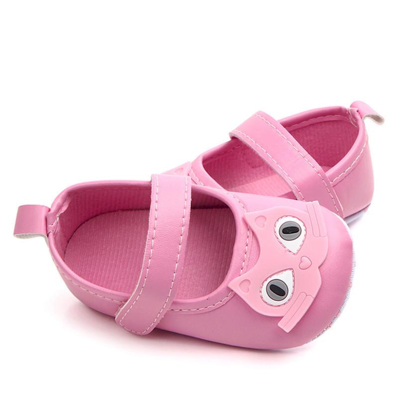 Newborn Baby Girl Cartoon Sneaker Soft Sole Anti-slip Single Shoes First Walker A84L77 (6)