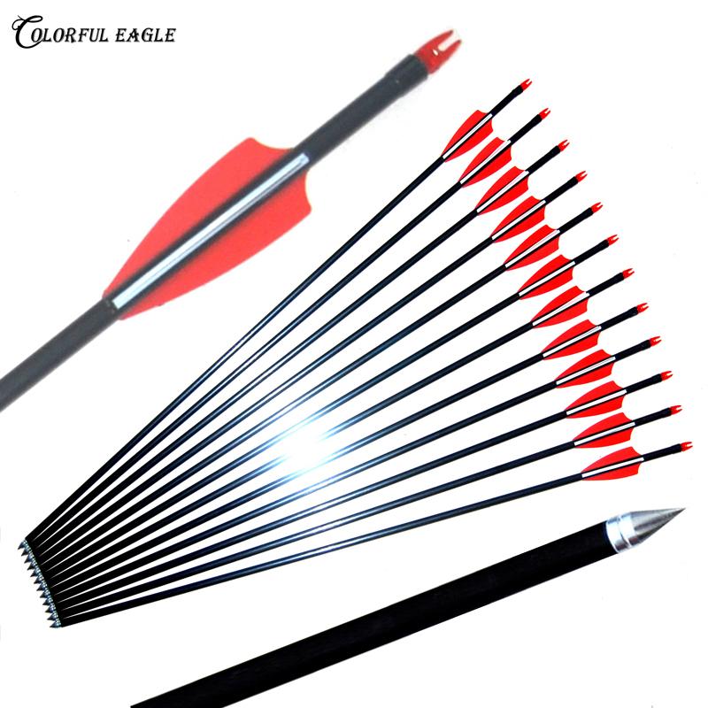 12pcs 6mm//7mm Archery Arrow Practice Points Arrow Heads Target Field Points