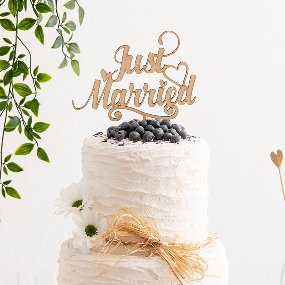 Anniversaire de mariage Gâteau Acrylique Famille Mariage et Mariage Décor