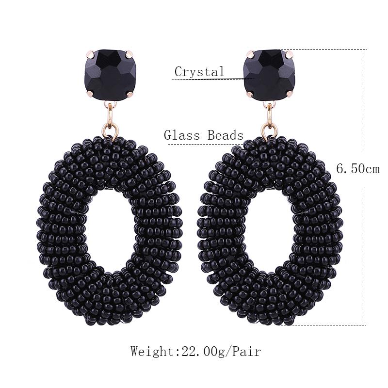 Earrings Bohemian Oorbellen Size