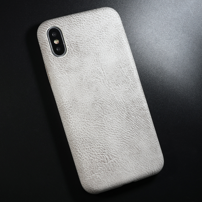 PU Leather Pattern Phone Case for iphone 6 6s 7 8 plus Case Back Cover For iphone X xs max XR Case (10)