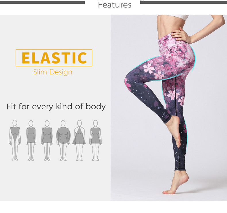 2020 Womens Sports Pants Yoga Leggings Seamless Sport Women Fitness For Gym Legging Print Running Push Up Slim Sexy Elastic Workout Y200623 From Luo00 16 45 Dhgate Com