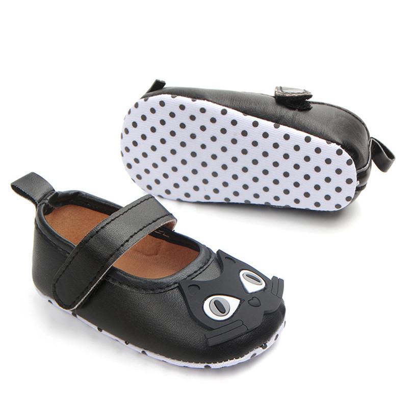 Newborn Baby Girl Cartoon Sneaker Soft Sole Anti-slip Single Shoes First Walker A84L77 (16)