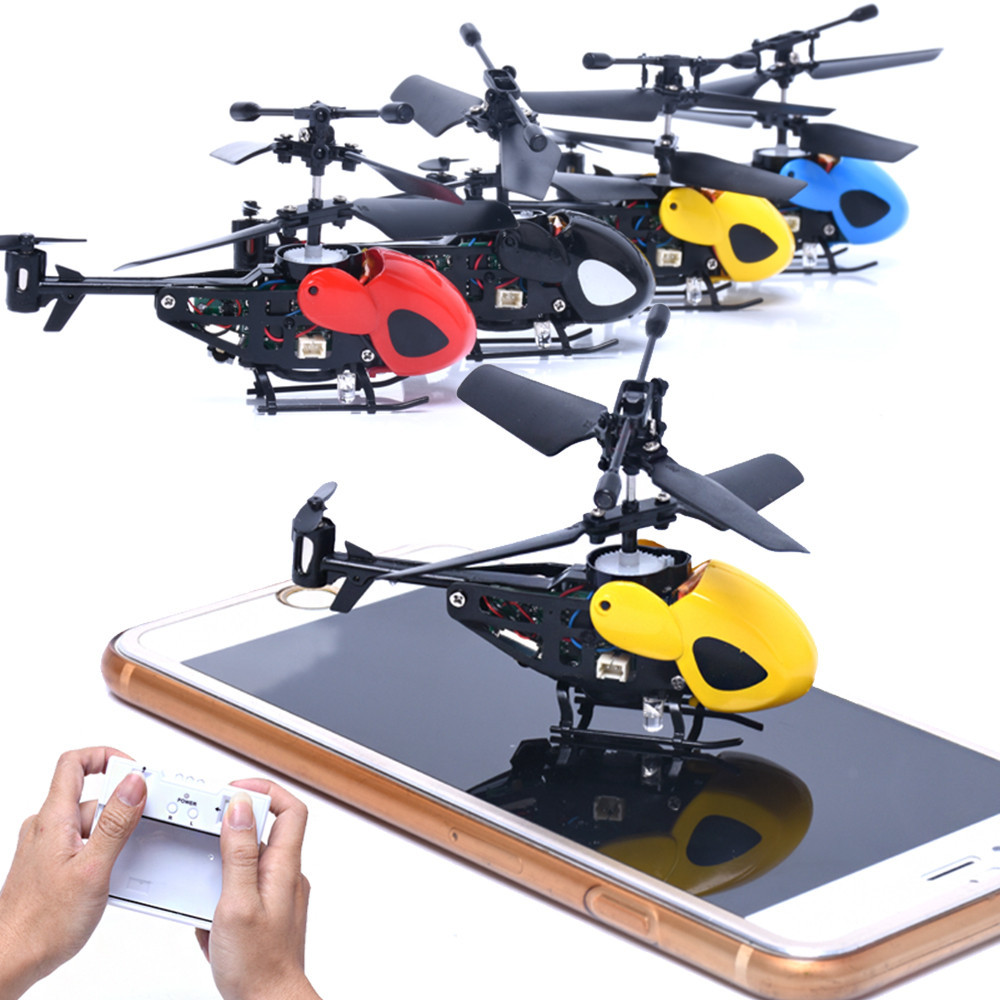 wholesale Rc Helicopter Radio Remote Control Aircraft Toy Gift Micro 3.5 Channel RC Drone Toy Gifts Original Electric