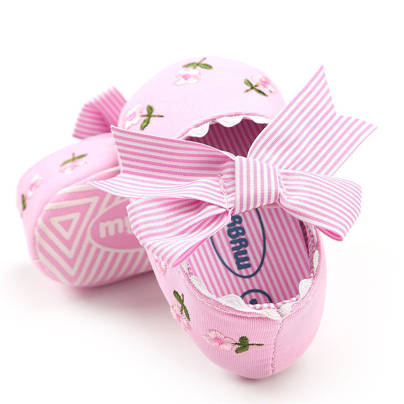 3 Color Baby Girl Shoes Toddler Kids Fashion Embroidery Flower Butterfly-knot First Walkers Kids Shoes NDA84L23 (6)